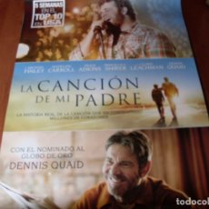 Cine: LA CANCION DE MI PADRE - CARTEL ORIGINAL. Lote 176918754