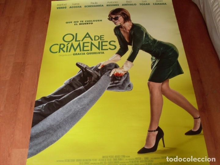 OLA DE CRIMENES - CARTEL ORIGINAL (Cine - Posters y Carteles - Clasico Español)