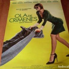 Cine: OLA DE CRIMENES - CARTEL ORIGINAL. Lote 176919477