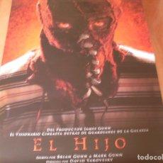 Cine: EL HIJO - CARTEL ORIGINAL. Lote 176920403