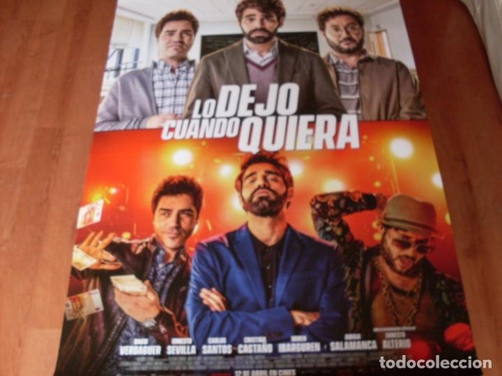 LO DEJO CUANDO QUIERA - CARTEL ORIGINAL (Cine - Posters y Carteles - Clasico Español)