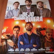 Cine: LO DEJO CUANDO QUIERA - CARTEL ORIGINAL. Lote 176920707