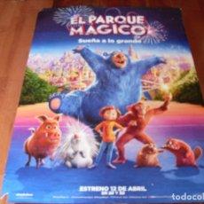 Cine: EL PARQUE MAGICO - CARTEL ORIGINAL. Lote 176921460