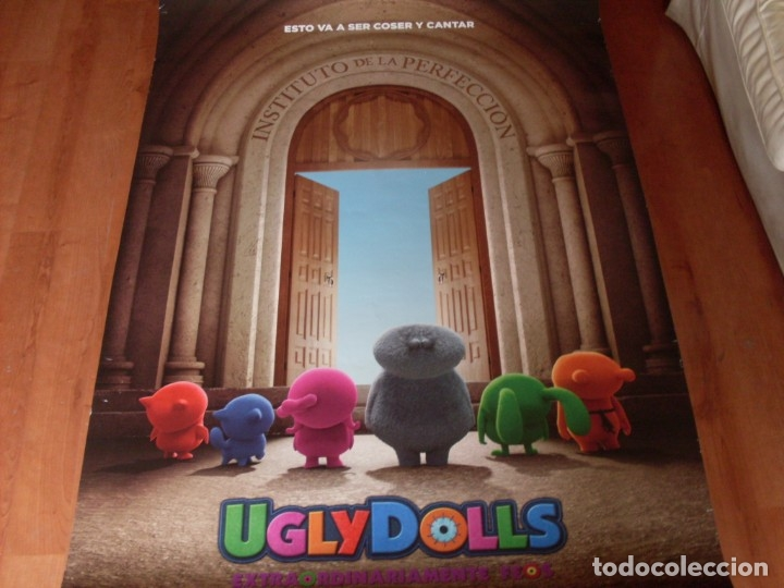 UGLY DOLLS - CARTEL ORIGINAL PREVIO (Cine - Posters y Carteles - Infantil)