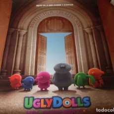 Cine: UGLY DOLLS - CARTEL ORIGINAL PREVIO. Lote 176921754