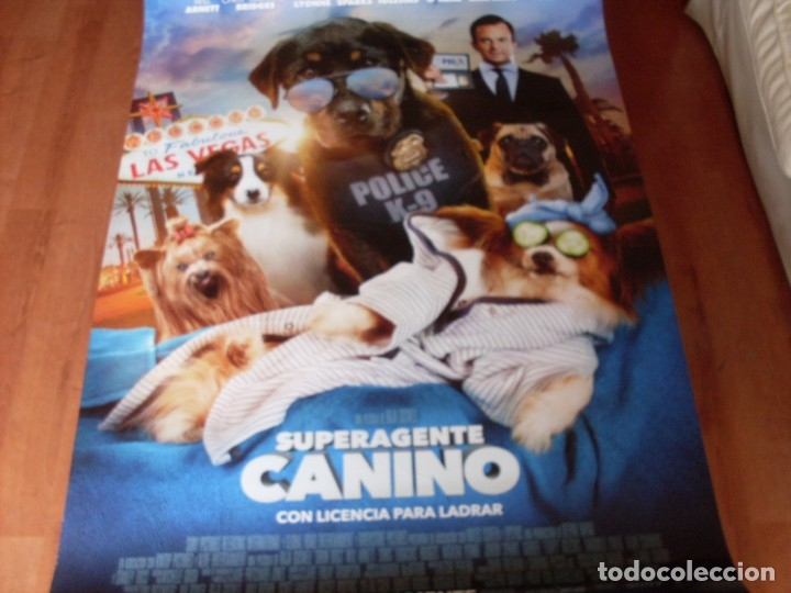SUPERAGENTE CANINO - CARTEL ORIGINAL (Cine - Posters y Carteles - Infantil)