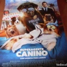 Cine: SUPERAGENTE CANINO - CARTEL ORIGINAL . Lote 176921939
