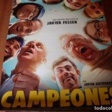 Cine: CAMPEONES - CARTEL ORIGINAL. Lote 176922170