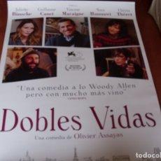 Cine: DOBLES VIDAS - CARTEL ORIGINAL. Lote 176923298