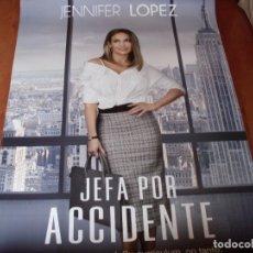 Cine: JEFA POR ACCIDENTE - CARTEL ORIGINAL. Lote 176925369