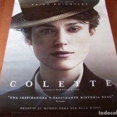 Cine: COLETTE - CARTEL ORIGINAL. Lote 176926087