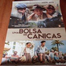 Cine: UNA BOLSA DE CANICAS - CARTEL ORIGINAL. Lote 176926230
