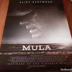 Cine: MULA - CARTEL ORIGINAL. Lote 176926339