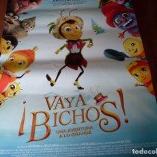 Cine: VAYA BICHOS - CARTEL ORIGINAL. Lote 176927344