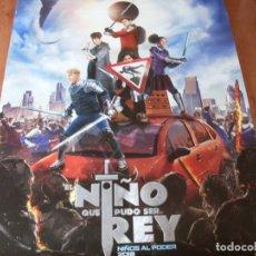 Cine: EL NIÑO QUE PUDO SER REY - CARTEL ORIGINAL. Lote 176931189