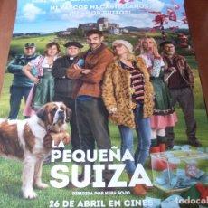 Cine: LA PEQUEÑA SUIZA - CARTEL ORIGINAL. Lote 176934380