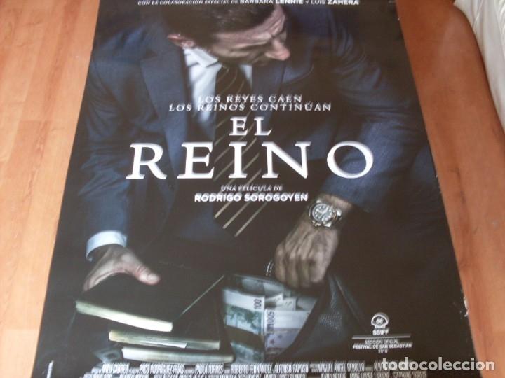 EL REINO - CARTEL ORIGINAL (Cine - Posters y Carteles - Clasico Español)