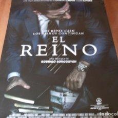 Cine: EL REINO - CARTEL ORIGINAL. Lote 176935715
