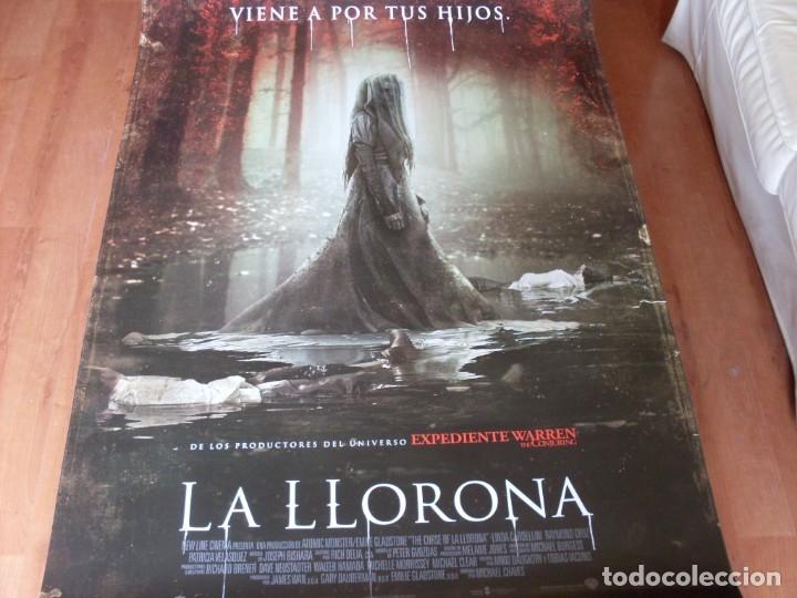 LA LLORONA - CARTEL ORIGINAL (Cine - Posters y Carteles - Terror)