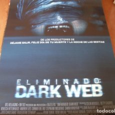 Cine: ELIMINADO DARK WED - CARTEL ORIGINAL. Lote 176936994