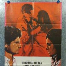 Cine: ANONIMO VENECIANO. FLORINDA BOLKAM, TONY MUSANTE. AÑO 1971. POSTER ORIGINAL . Lote 176937968