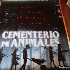 Cine: EL CEMENTERIO DE ANIMALES - CARTEL ORIGINAL. Lote 176938357