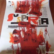 Cinema: SUSPIRIA - CARTEL ORIGINAL. Lote 176939600