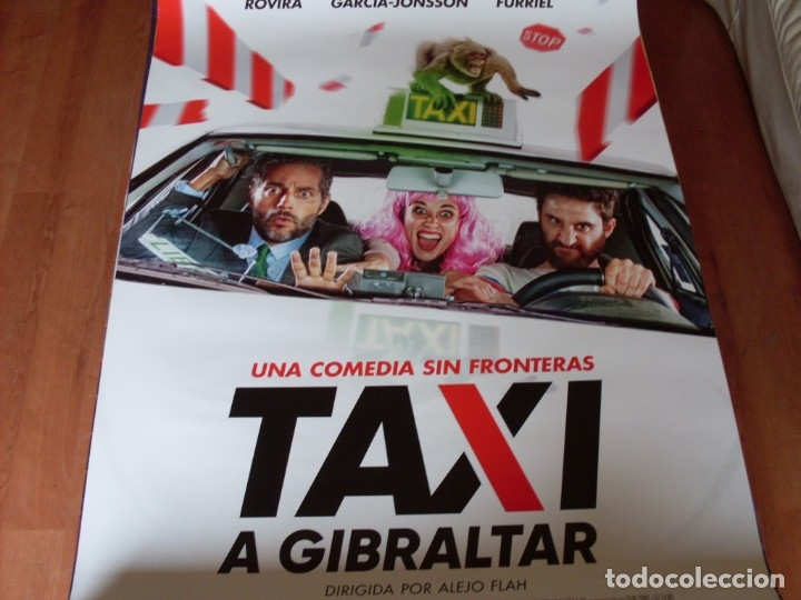 TAXI A GIBRALTAR - CARTEL ORIGINAL (Cine - Posters y Carteles - Clasico Español)
