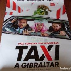 Cine: TAXI A GIBRALTAR - CARTEL ORIGINAL. Lote 176939815
