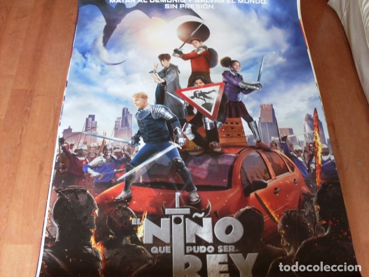 EL NIÑO QUE PUDO SER REY - CARTEL ORIGINAL (Cine - Posters y Carteles - Infantil)