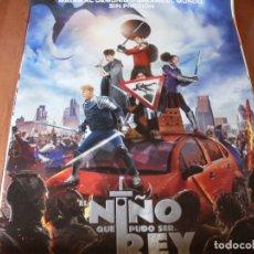 Cine: EL NIÑO QUE PUDO SER REY - CARTEL ORIGINAL. Lote 176939984