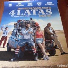 Cine: 4 LATAS - CARTEL ORIGINAL. Lote 176940173