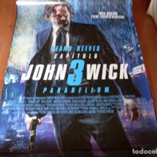 Cine: JOHN WICK 3 PARABELLUM - CARTEL ORIGINAL MODELO 2. Lote 176942503