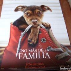 Cine: UNO MAS DE LA FAMILIA - CARTEL ORIGINAL. Lote 176942619