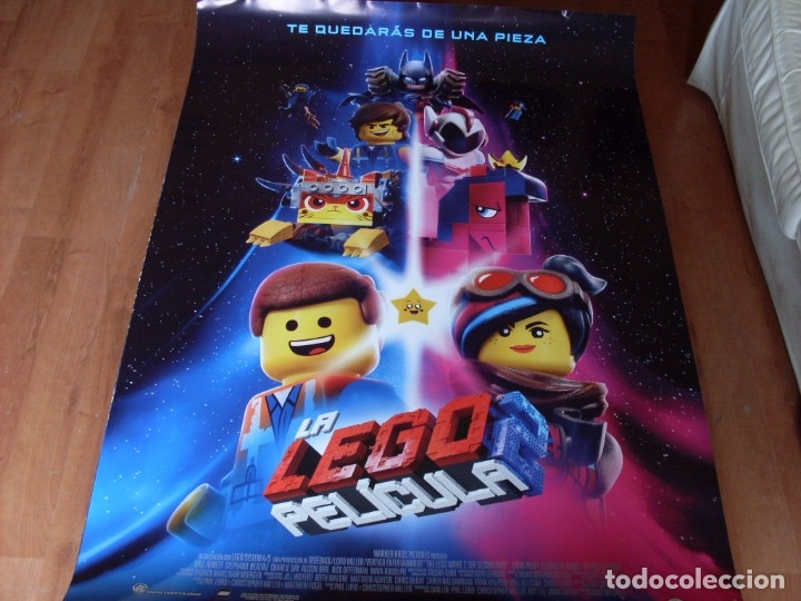 LA LEGO PELICULA 2 - CARTEL ORIGINAL (Cine - Posters y Carteles - Infantil)