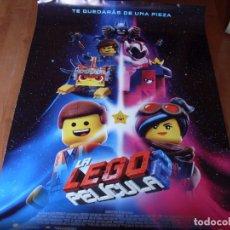 Cine: LA LEGO PELICULA 2 - CARTEL ORIGINAL. Lote 176943149
