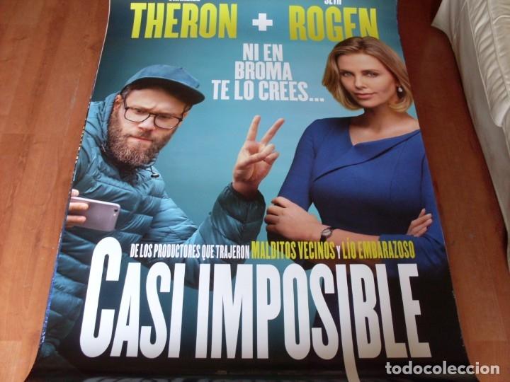 CASI IMPOSIBLE - CARTEL ORIGINAL (Cine - Posters y Carteles - Comedia)
