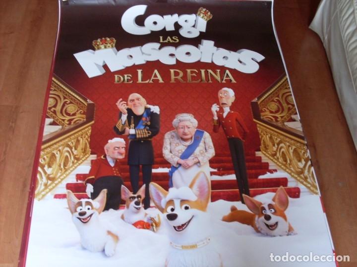 CORGI LAS MASCOTAS DE LA REINA - CARTEL ORIGINAL (Cine - Posters y Carteles - Infantil)