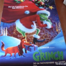 Cine: EL GRINCH - CARTEL ORIGINAL. Lote 176943929