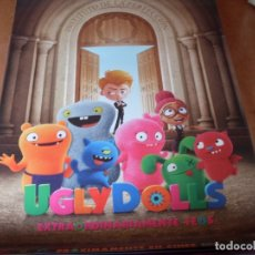 Cine: UGLY DOLLS - CARTEL ORIGINAL. Lote 176943969