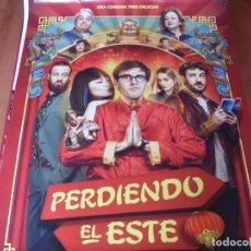 Cine: PERDIENDO EL ESTE - CARTEL ORIGINAL. Lote 176944124