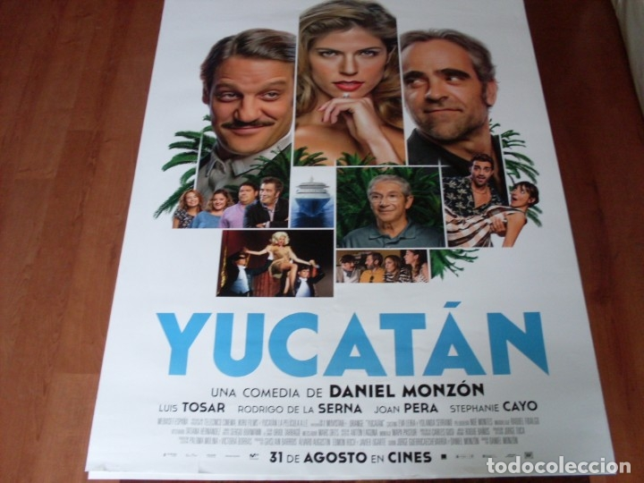 YUCATAN - CARTEL ORIGINAL (Cine - Posters y Carteles - Clasico Español)