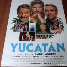 Cine: YUCATAN - CARTEL ORIGINAL. Lote 176958778