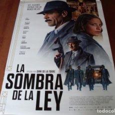 Cine: LA SOMBRA DE LA LEY - CARTEL ORIGINAL. Lote 176958930