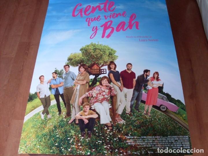 GENTE QUE VIENE Y BAH - CARTEL ORIGINAL (Cine - Posters y Carteles - Clasico Español)