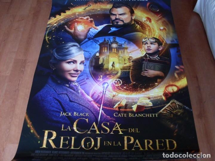 LA CASA DEL RELOJ EN LA PARED - CARTEL ORIGINAL (Cine - Posters y Carteles - Infantil)