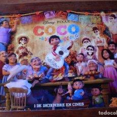 Cine: COCO - CARTEL ORIGINAL PEQUEÑO Y APAISADO. Lote 176960605