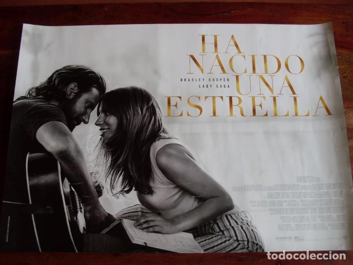 HA NACIDO UNA ESTRELLA - CARTEL ORIGINAL PEQUEÑO Y APAISADO (Cine - Posters y Carteles - Musicales)