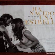 Cine: HA NACIDO UNA ESTRELLA - CARTEL ORIGINAL PEQUEÑO Y APAISADO. Lote 176960767