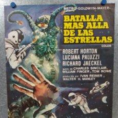 Cine: BATALLA MÁS ALLÁ DE LAS ESTRELLAS. ROBERT HORTON, RICHARD JAECKEL AÑO 1967. POSTER ORIGINAL. Lote 192767936